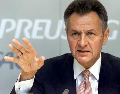 TUI-Chef Michael Frenzel: Auch der Wunschkandidat des Kanzlers sagte ab