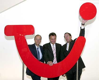 """""""World of Tui"""": Der Preussag-Vorstand setzt ganz auf den Tourismus"""