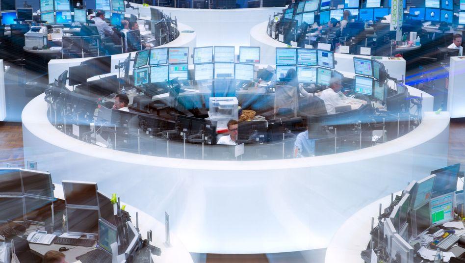 Börse in Frankfurt: Der Dax hat erstmals seit Mitte Januar mit einem Wochenverlust geschlossen