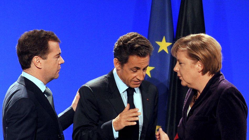 Nicolas Sarkozy und Angela Merkel: Neue Abhängigkeit von Griechenland geschaffen