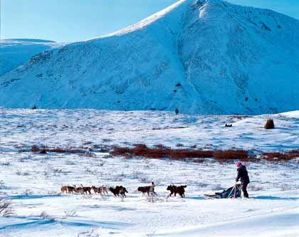 Endlose Weiten in Eis und Schnee: In Québec gibt es buchstäblich viele weiße Flecken auf der Landkarte