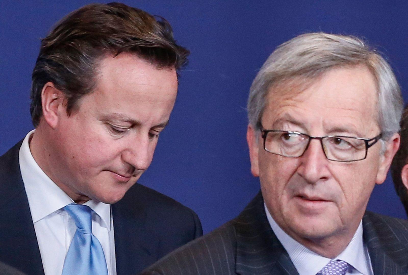David Cameron / Jean-Claude Juncker