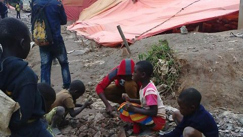 Laut Amnesty International arbeiten zahlreiche Kinder in Kobaltminen im Kongo