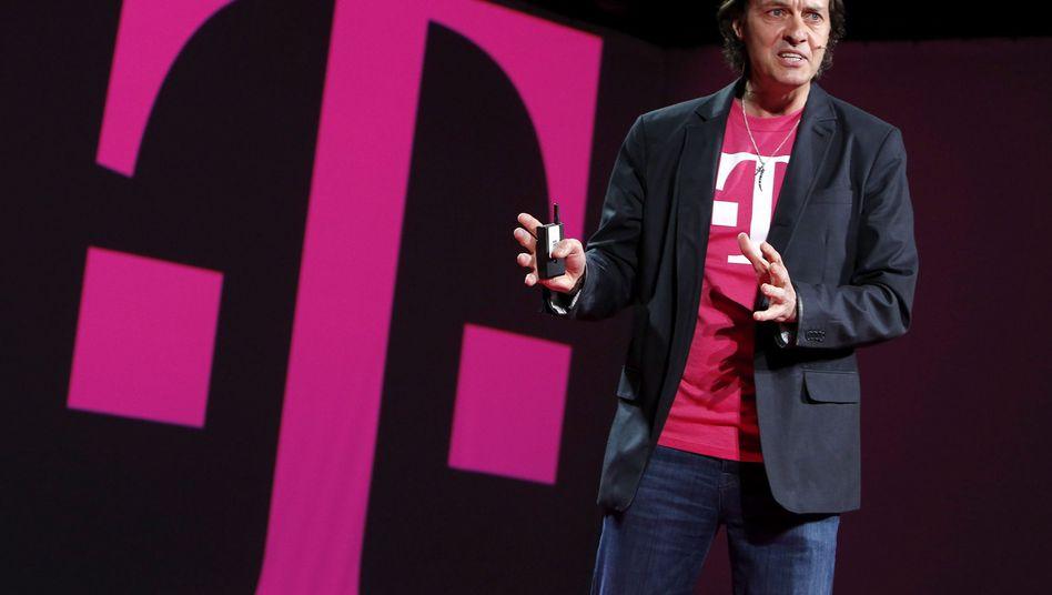 Konnte das Management von Sprint von einer möglichen Fusion offenbar nicht überzeugen: T-Mobile-US-Chef John Legere