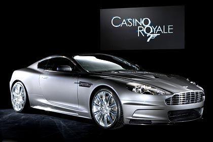 Mustergültiges Paar: Aston Martin und James Bond