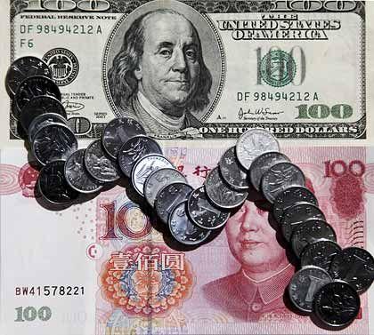 Alte und neue Weltmacht: Während China schon wieder Fahrt aufgenommen hat, hofft die USA auf das Erreichen der wirtschaftlichen Talsohle