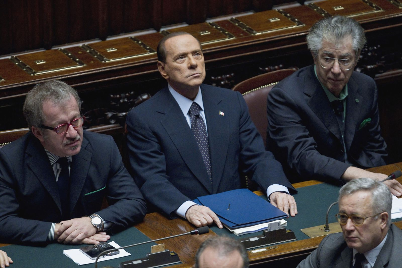 Berlusconi/ Parlament/ Abstimmung
