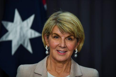 Australiens Ex-Außenministerin Julie Bishop wurde ebenfalls von Greensill engagiert - und bezahlt