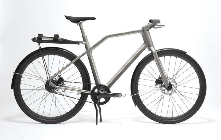 """Fährt sich wie gedruckt: Titanium-Bike """"Solid"""""""