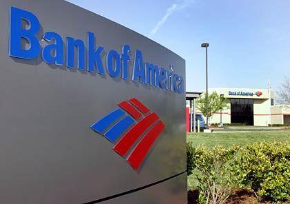 Schöner Schein: Im Inneren der Bank of America herrscht derzeit nicht gerade eitel Sonnenschein