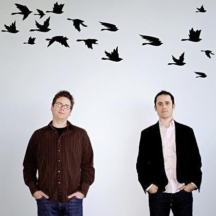 Twitter-Gründer Biz Stone (l.) und Evan Williams: Der Erfolg ist da, das Geschäftskonzept fehlt