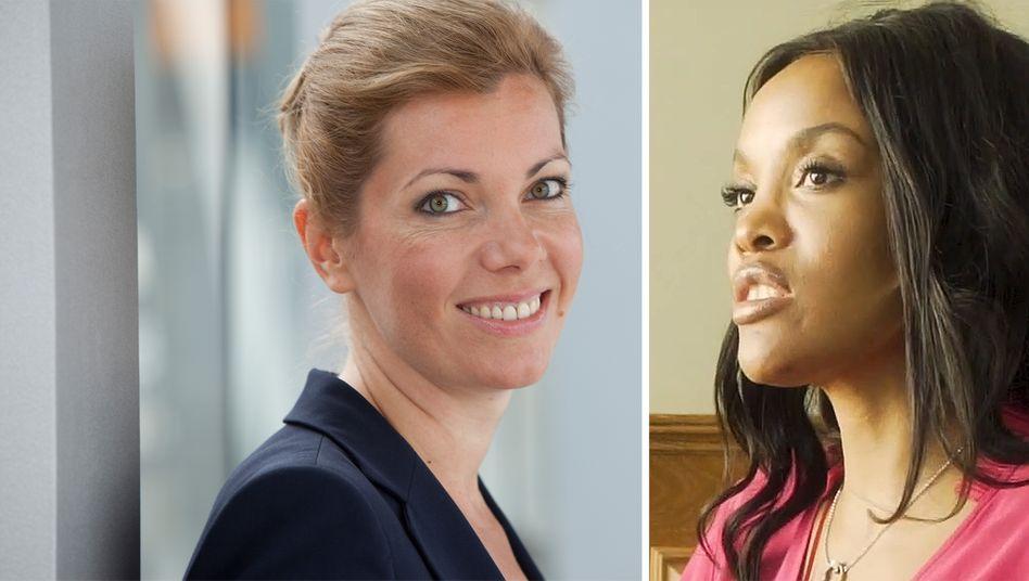 Aufsichtsratsmitglieder: Anastassia Lauterbach und Vuyiswa V. MCwabeni (re.)