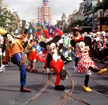 Disney-World in Florida: Boeing, Microsoft und Disney gehören zu den größten Profiteuren der umstrittenen Steuergeschenke