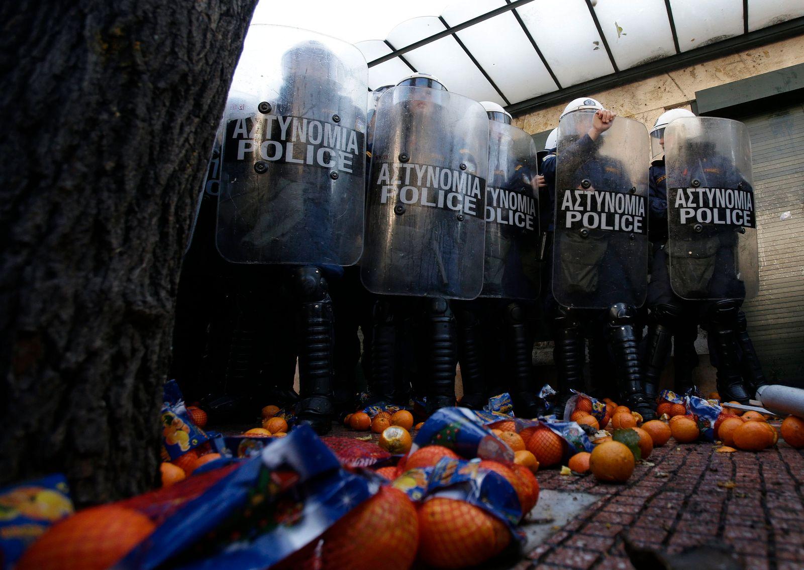 Griechenland / Bauernprotest