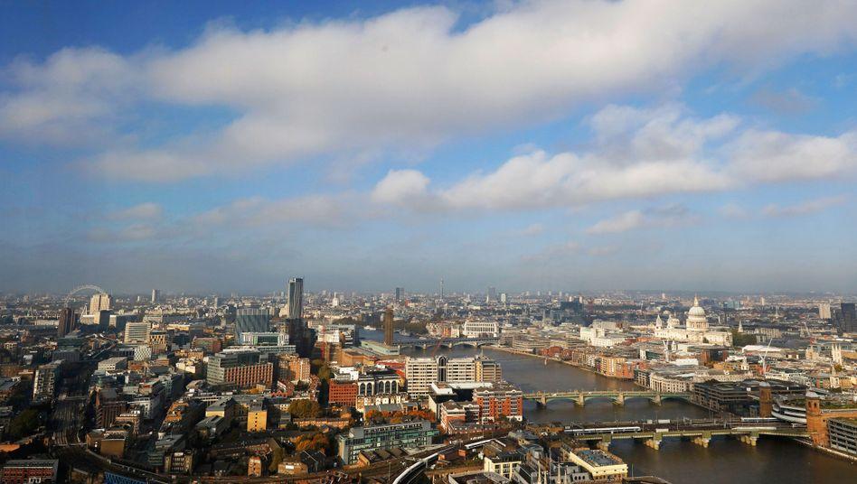 Skyline des Londonder Bankenviertels