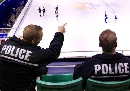 Staatspolizei beim Eiskunstlauf-Wettbewerb: Kosten für Sicherheit doppelt so hoch wie in bei den Spielen in Atlanta