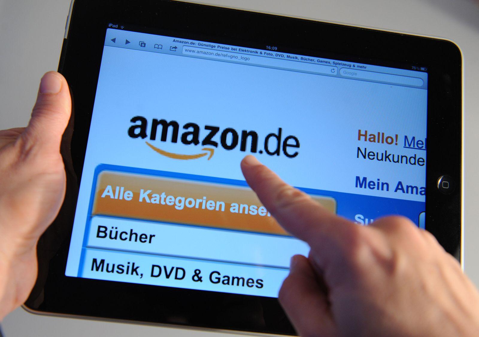 Europäische Websites von Amazon nicht erreichbar