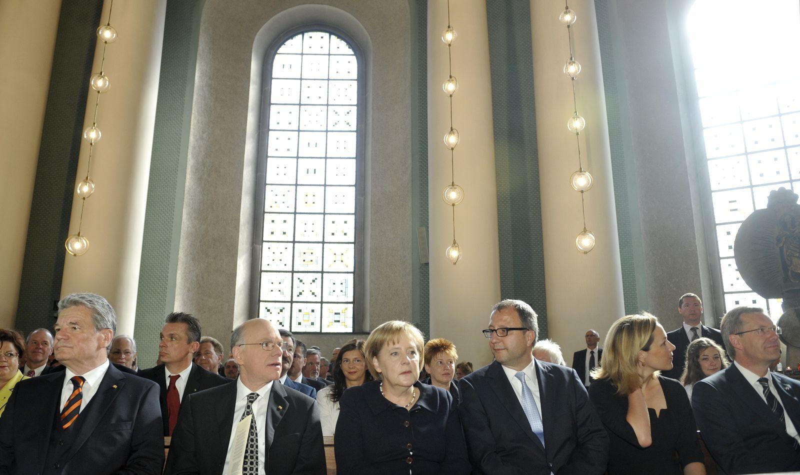 NICHT VERWENDEN Gauck / Wulff / Gottesdienst / Bundespräsidentenwahl