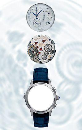 Rarität: Einen Chronographen mit dreifach akustischem Tonsignal hat Glashütte Original in 50 Exemplaren hergestellt - zum Preis von 45.000 Euro
