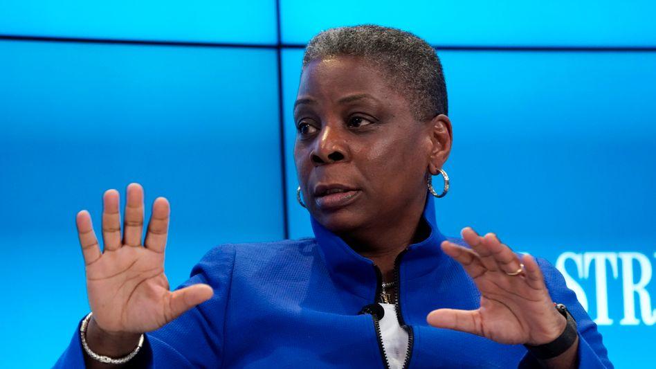 """""""Als ich aufwuchs, war ich praktisch täglich mit Rassismus oder Sexismus konfrontiert"""", sagt Topmanagerin Ursula Burns."""