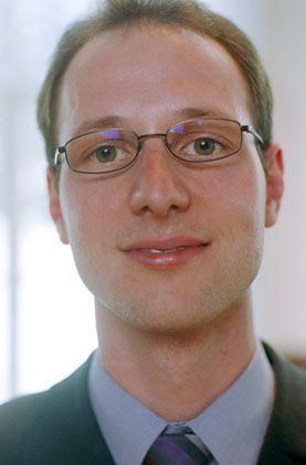 """""""Was mit Zahlen"""": Thomas Hainle, BWL-Student, 3. Preis"""