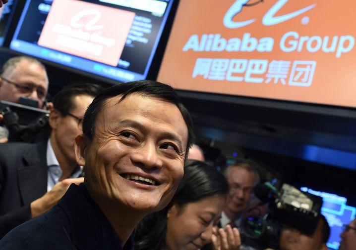 Reichster Mann Chinas: Alibaba-Gründer Ma