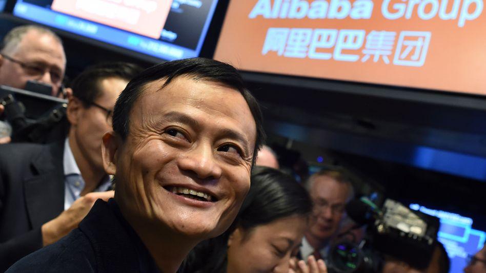 Will mit Apple über eine Partnerschaft sprechen: Alibaba-Chef Jack Ma hat zwar einen eigenen Bezahldienst, doch ist er offenbar auch an Apple Pay interessiert