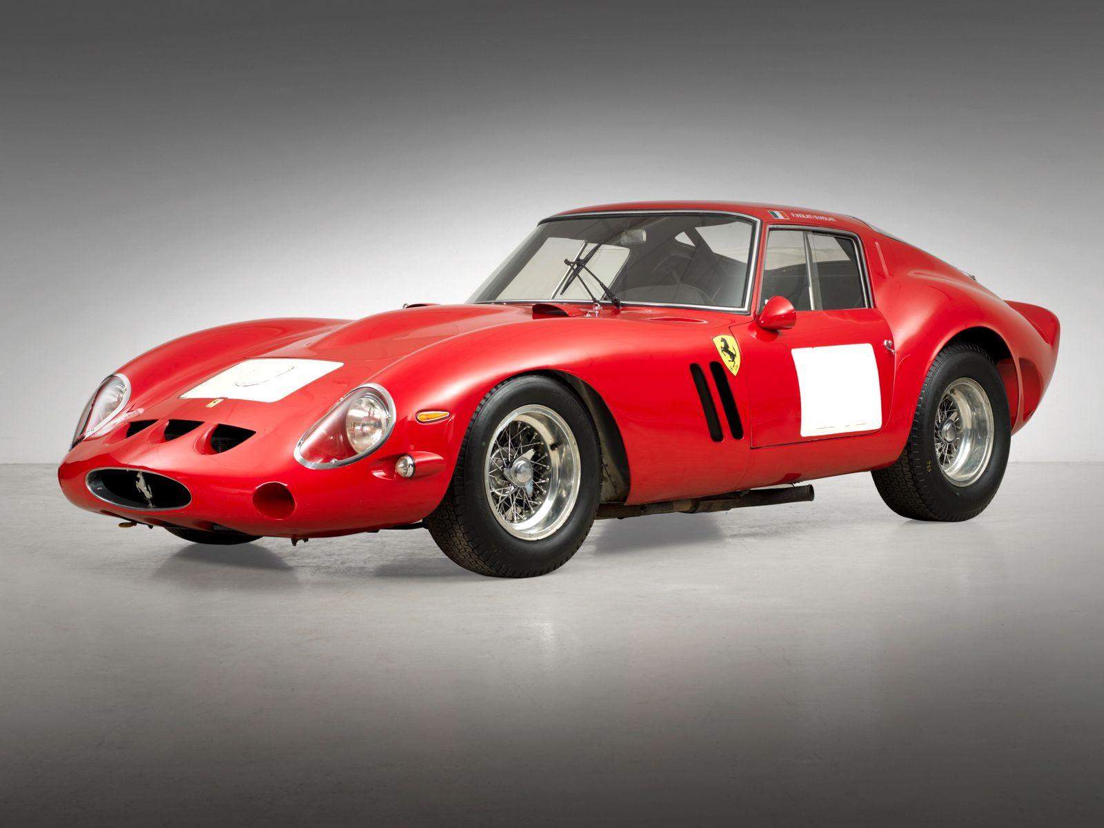 EINMALIGE VERWENDUNG 1962er Ferrari 250 GTO