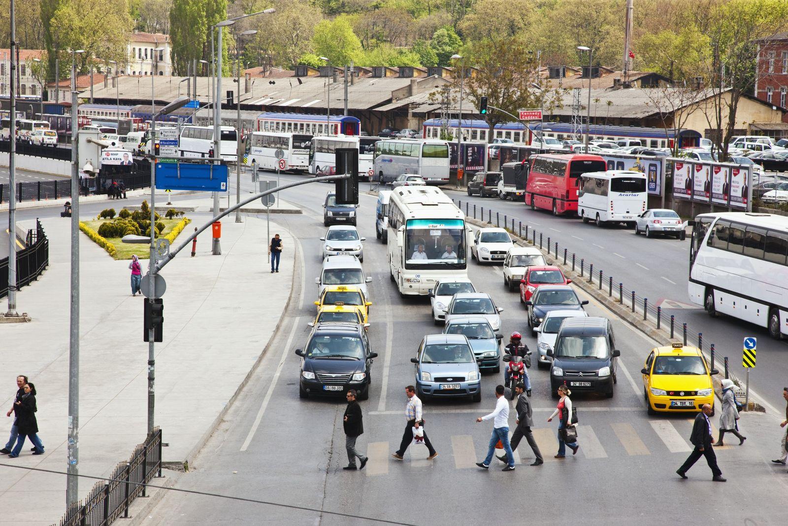 NICHT MEHR VERWENDEN! - Istanbul / Verkehr