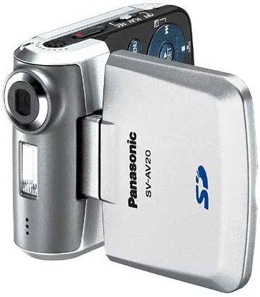 Panasonic: Camcorder D-snap SV-AV20