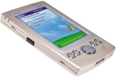 Asus MyPal A620BT: Ausgestattet mit dem Betriebssystem Windows Mobile 2003, einem Intel XScale PXA255-Prozessor mit 400 Megahertz, 64 MB RAM, 64 MB Flash-ROM und einem Bildschirm mit 240 x 320 Pixel, ab 343 Euro
