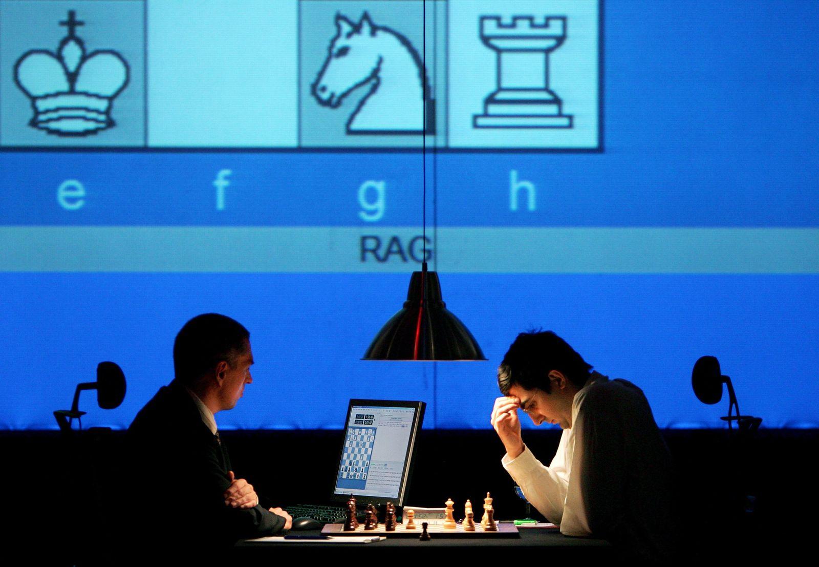 """Wladimir Kramnik gegen """"Deep Fritz"""""""
