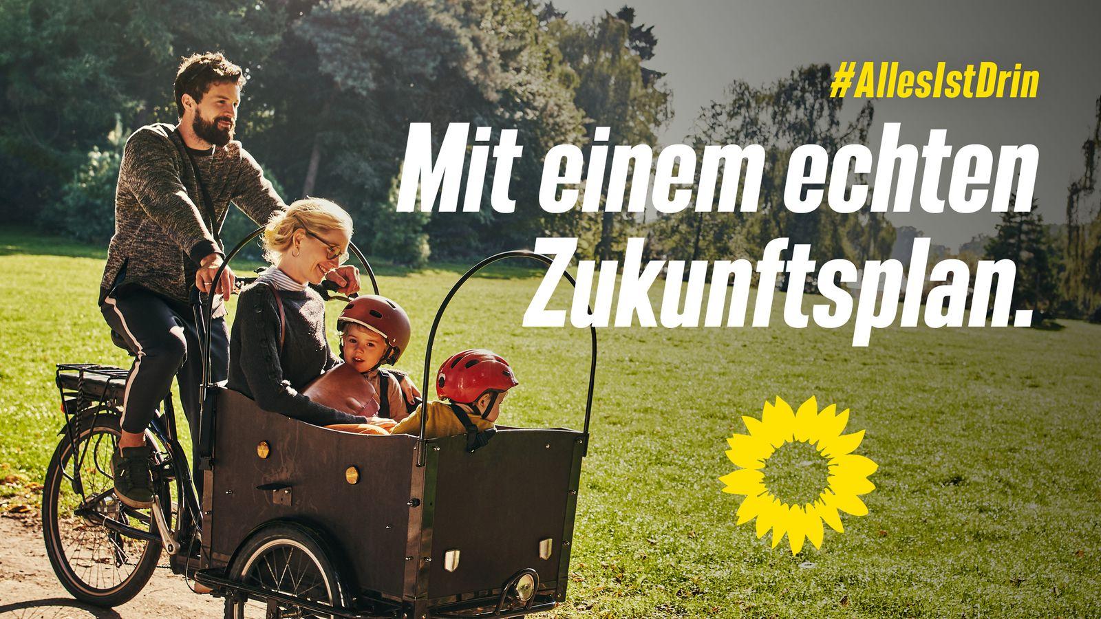 Wahlplakat Bündnis 90/Die Grünen