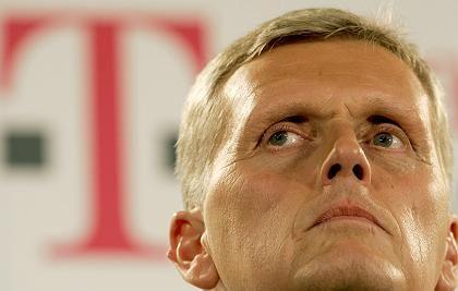 Telekom-Chef Kai-Uwe Ricke: Vertrag soll offenbar nicht verlängert werden