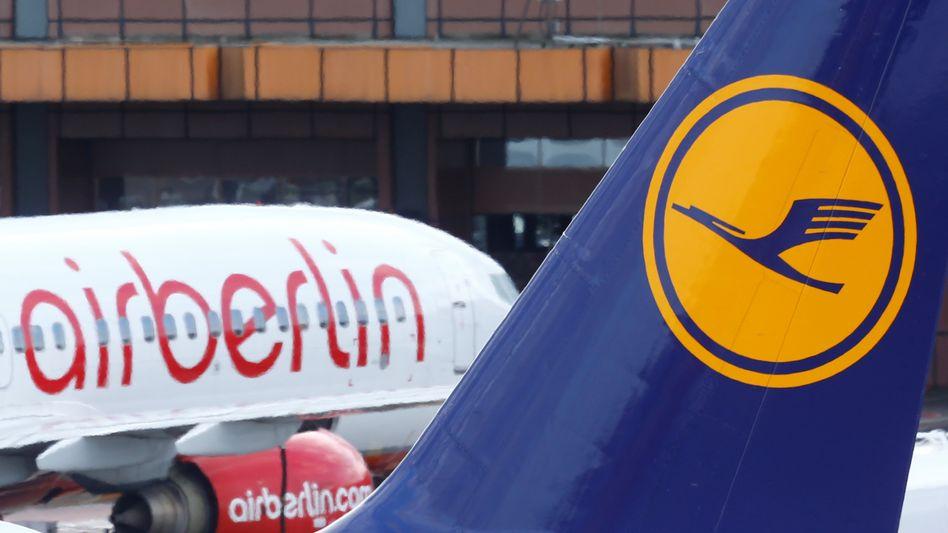 Verwertung von Air Berlin: Berlin stützt die Lufthansa, europäische Partner werden kaltgestellt. Ganz anders, marktoffen und pragmatisch agiert Macron - siehe Alstom und Siemens