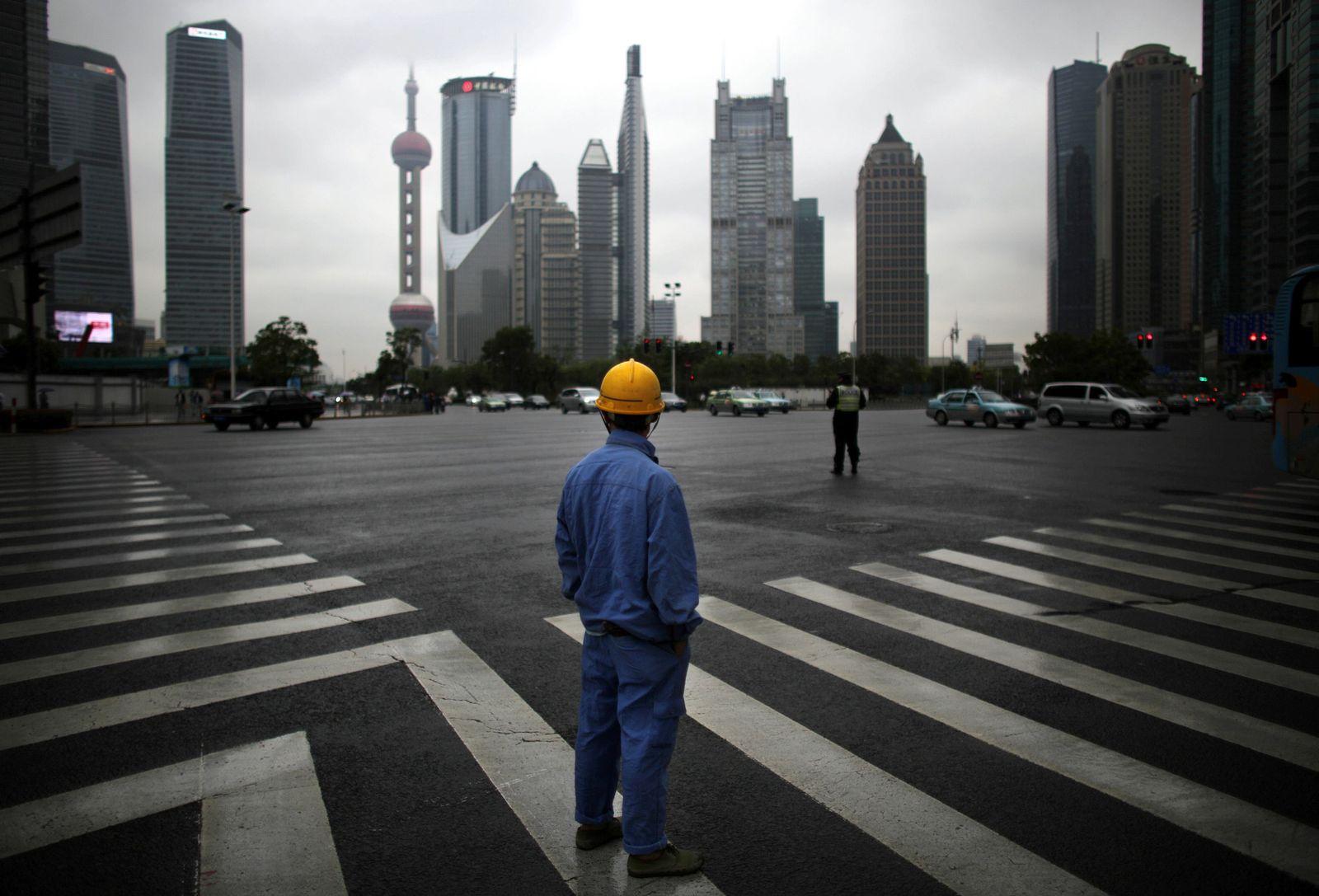 China / Konjunktur / Wirtschaft / Bauarbeiter
