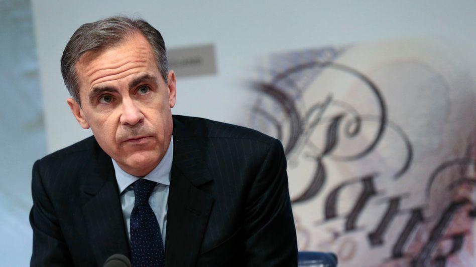 Notenbankchef Mark Carney: Feuerwehreinsatz gegen die drohende Rezession