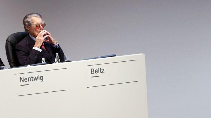 ThyssenKrupp: Berthold Beitz ist tot