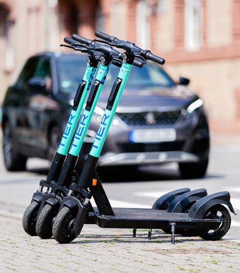 60.000 E-Scooter in mehr als 80 europäischen Städten: E-Scooter von Tier