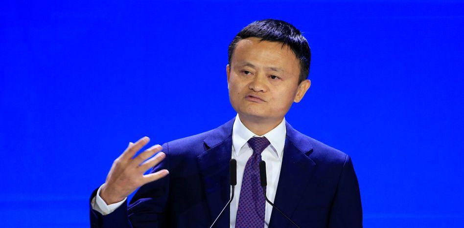 Alibaba-Gründer und Konzernchef Jack Ma legt beeindruckende Wachstumsdaten vor