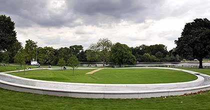 Hyde Park in London: Gedenkstätte für Lady Diana