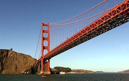 Golden Gate Bridge: Viele Auswanderer zieht es nach wie vor in die USA