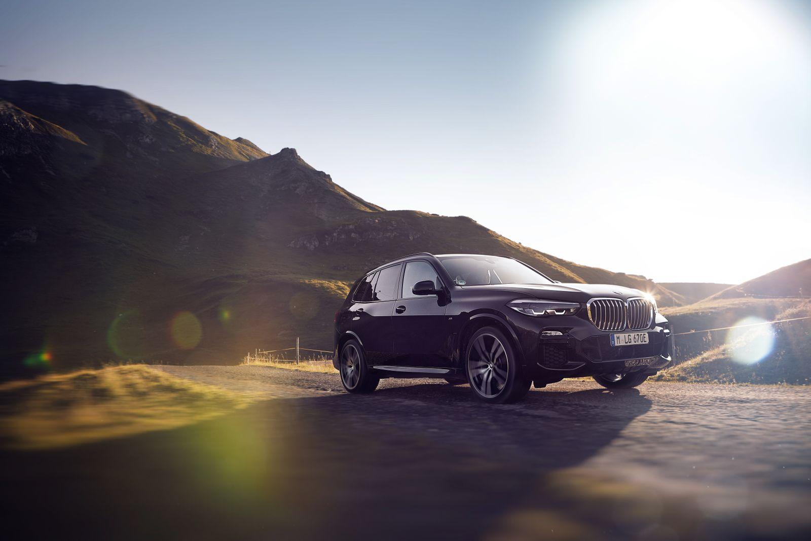 BMW X5 Plug in Hybrid / Seitenansicht