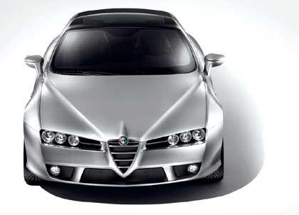Alfa Romeo Brera: Zwei Jahre nach der Studie kommt die Serienversion auf den Markt