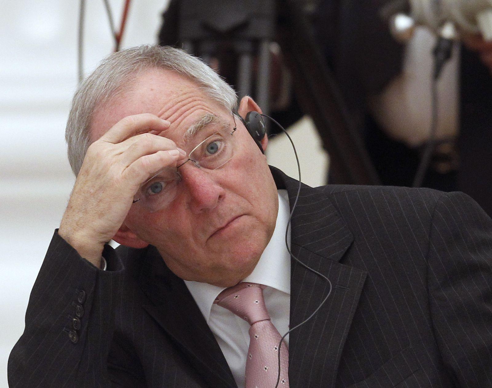 Schäuble / Moskau / G20