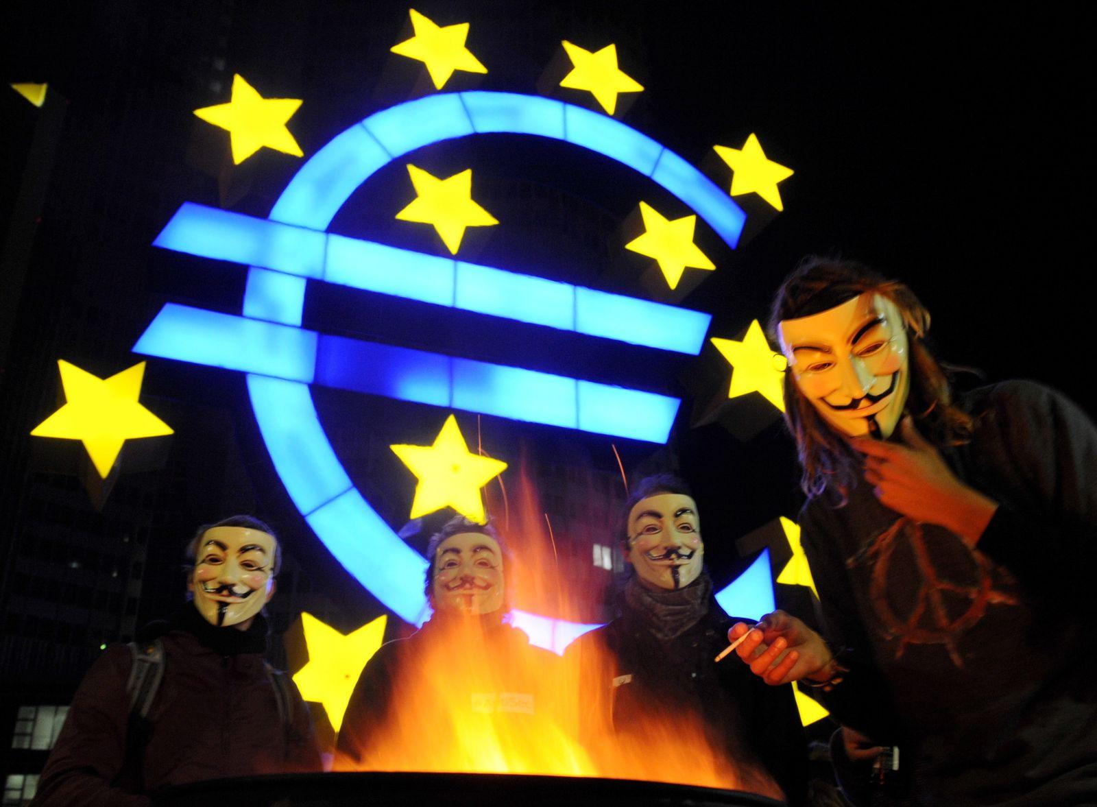 """""""Occupy Wall Street"""" in Frankfurt"""