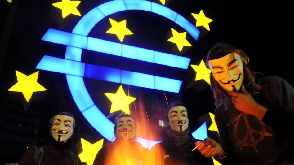 Euro unter Druck: Auch die aufstrebenden Volkswirtschaften der Welt leiden mit