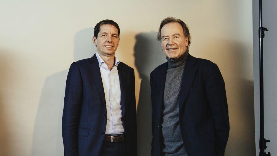 Neustart: Thomas Strüngmann (r.) und Helmut Jeggle machen jetzt was anderes zusammen