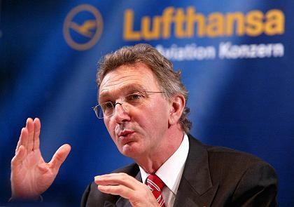 Gut aufgestellt:Lufthansa-Chef Mayrhuber