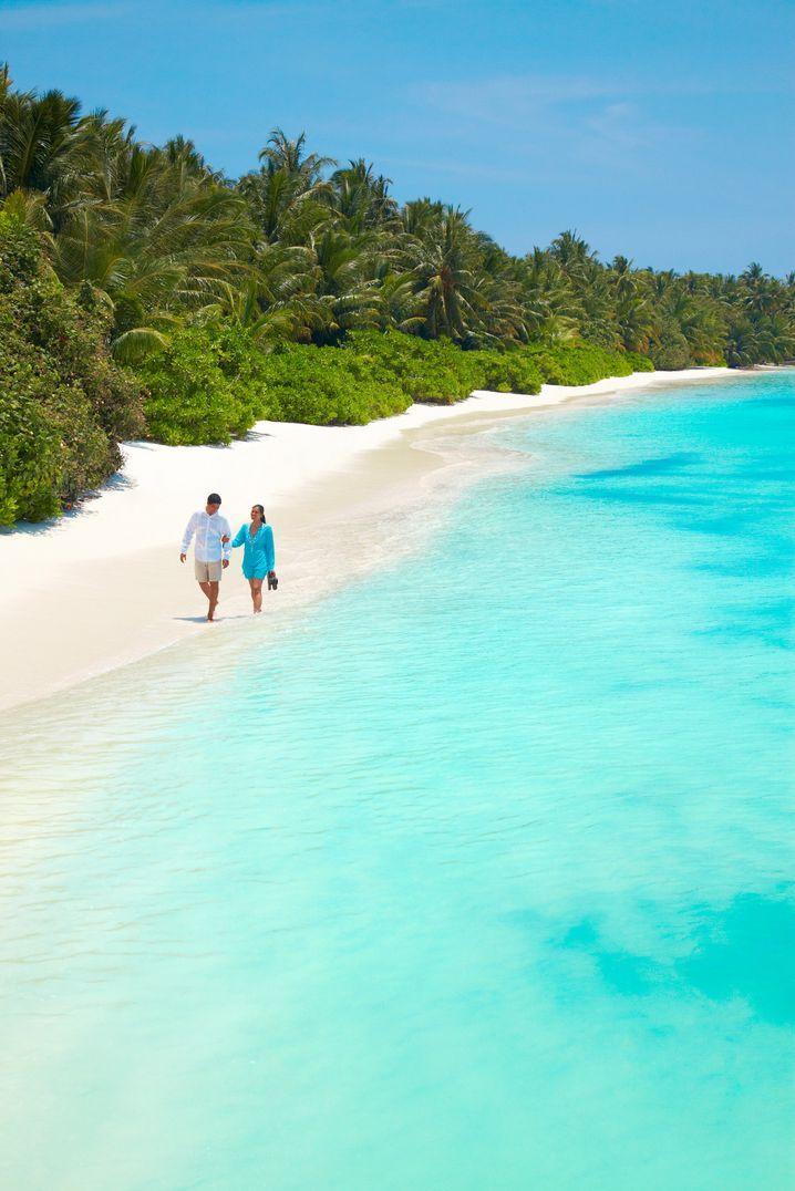 Traumziel vor allem für Pärchen: Die Malediven bieten wunderbare Strände und exklusive Inselresorts - für die entsprechenden Preise.